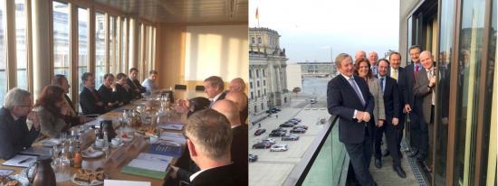 Besuch der deutsch-irischen Außenhandelskammer