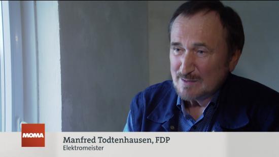 Manfred Todtenhausen im ARD-Morgenmagazin