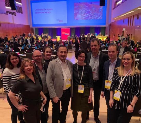 Wuppertaler Delegierte auf dem Landesparteitag
