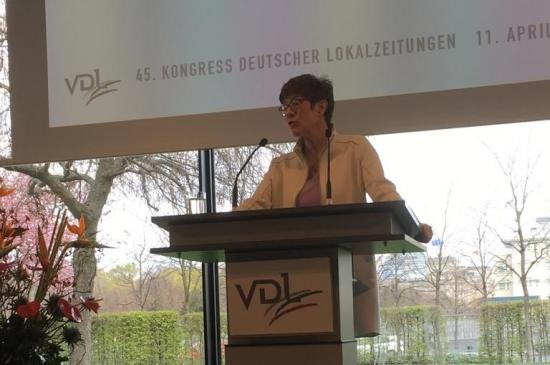Kongress Deutscher Lokalzeitungen