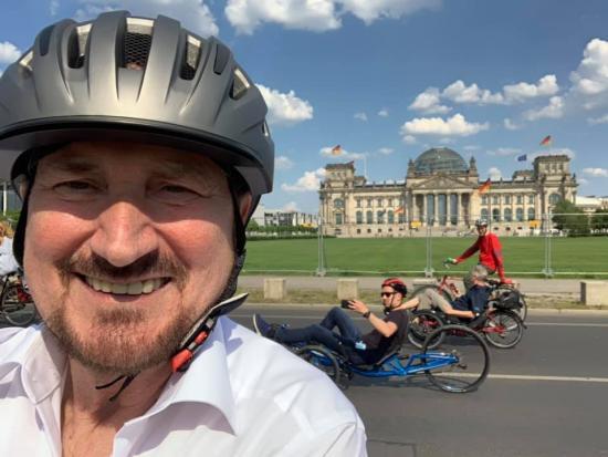 Radtour in Berlin