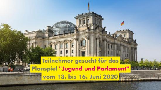 "Planspiel ""Jugend und Parlament"""